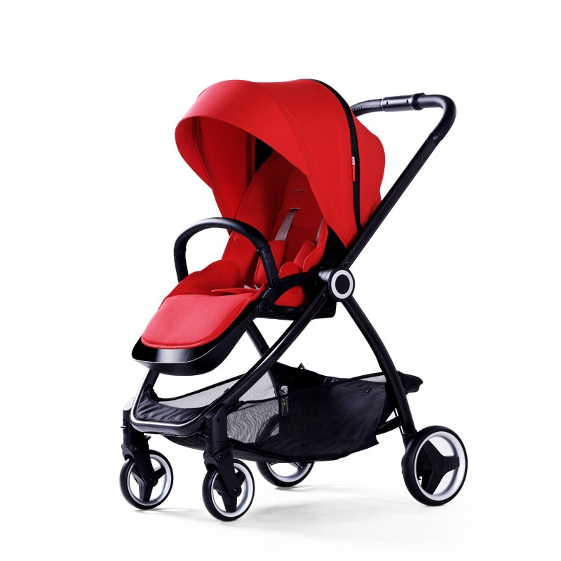 Cochecito de bebé europeo Kinderwagen plegable bebek arabasi alto paisaje cochecito de bebé portátil
