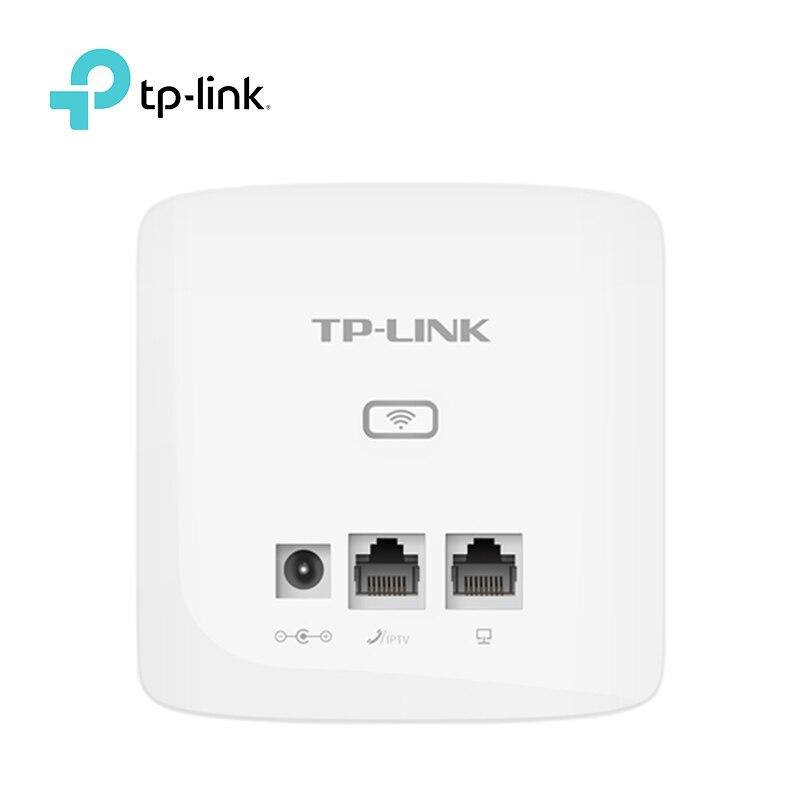Tp-link 300MBbps interior de pared incrustado inalámbrico WiFi Router repetidor TL-AP300I-DC AP punto de acceso inalámbrico 9VDC/0.6A DC power