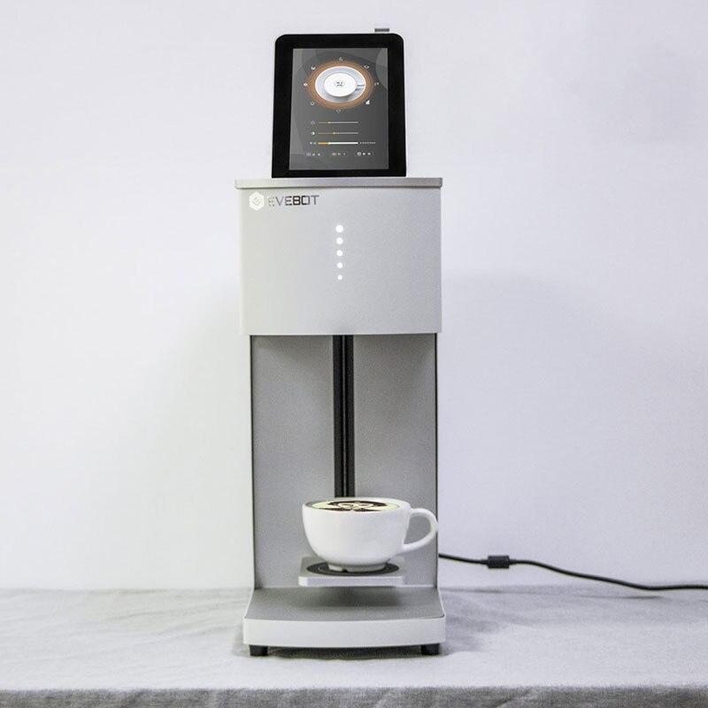 Venta caliente en 2019 mejor impresora de café conexión WiFi con impresora de inyección de tinta café autorretrato