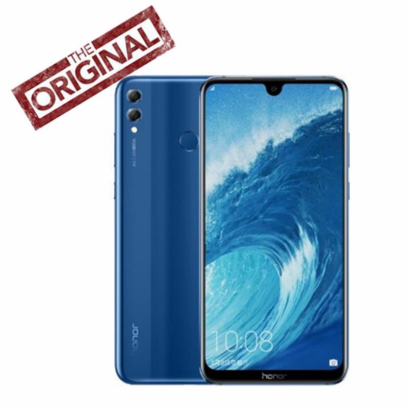 Honre 8x max 6 gb 64 gb telefone móvel 7.12 big update tela grande ota atualização 5000 mah lte smartphone 8x max android 8.1 octa núcleo tela