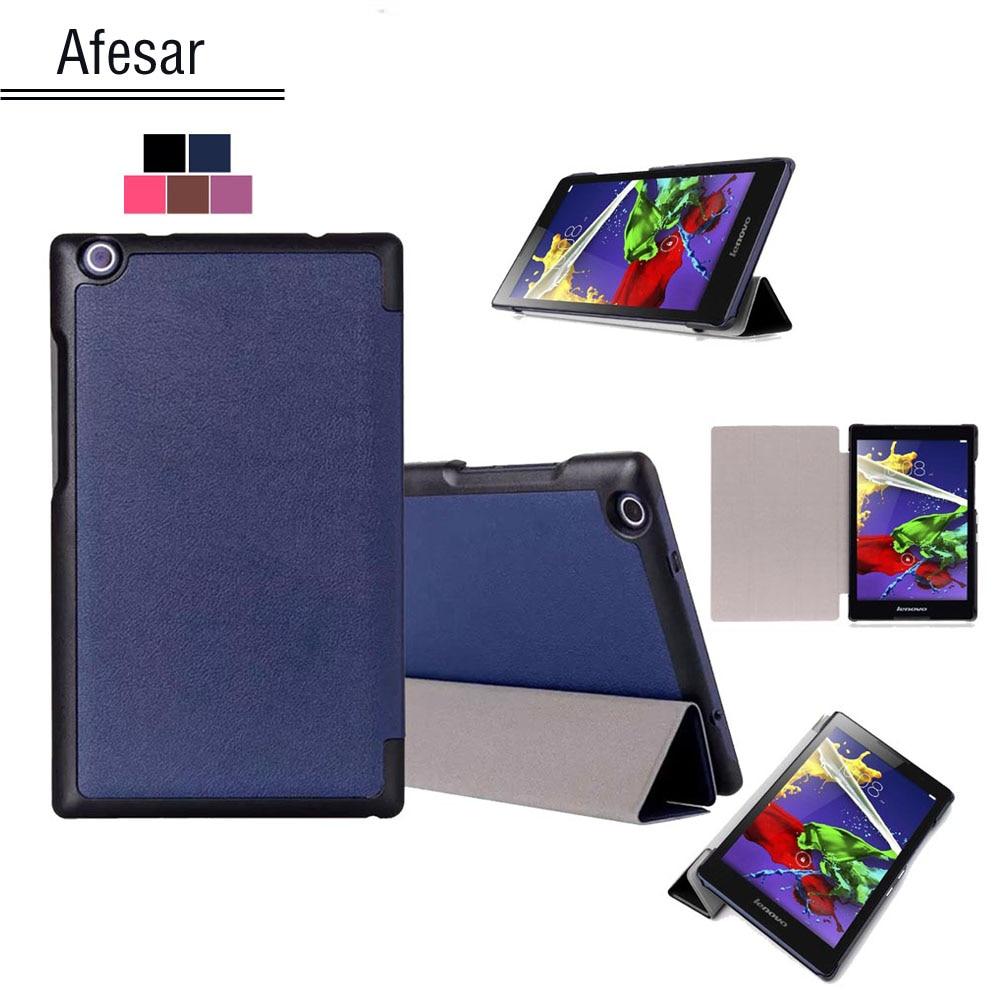 Custodia per tablet Smart shell, custodia per Lenovo Tab 2, 50LC Tab 3 8 850F 850M, custodia per Lenovo Tab 2 A8 Tab 3 8