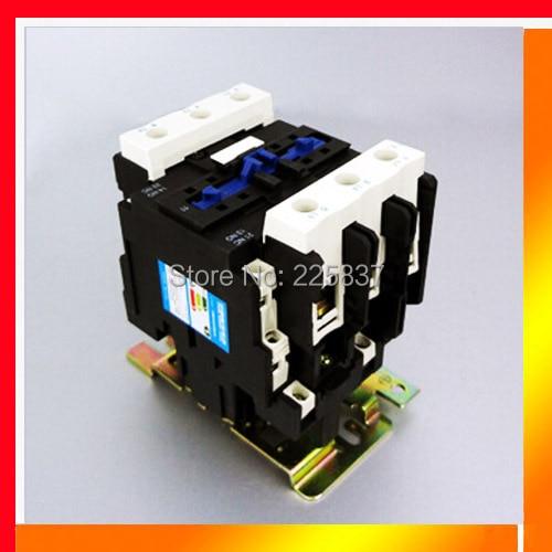 Envío Gratis CJX2-95 CJX2-9511 AC contactor magnético LC1-D95 95A abierto normal cerca de 220/380 V bobina, tensión interruptor 3 P + NO + NC