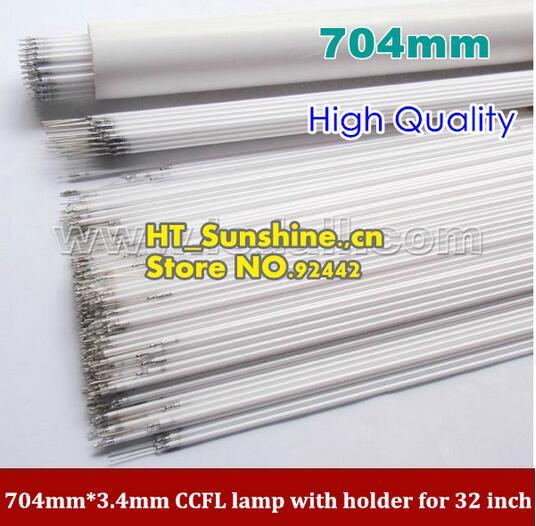 "Free Shipping!!! 50PCS/Lot 704MM*3.4MM CCFL Lamp Tube Backlight For 32"" LCD Sharp TV Screen Panel"