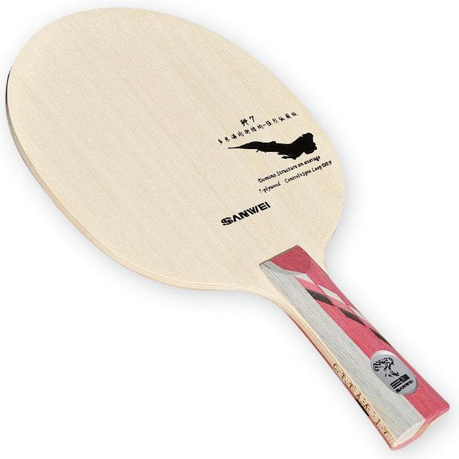 Sanwei lâmina de tênis de mesa profissional, lâmina de raquete/tênis de mesa profissional j7