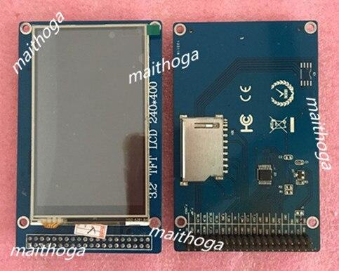 Maithoga módulo da tela colorida de 40 p tft lcd da polegada 3.2 com o encabeçamento do pino do cartão 240 v do cartão 400 v do sd da movimentação de ic 3.3 * do painel de toque hx8352a