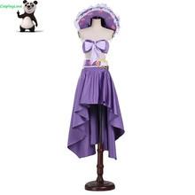 CosplayLove One Piece Cosplay Kid Adult 15 Anniversary Purple Nico Robin Dress Cosplay Costume Custom Made