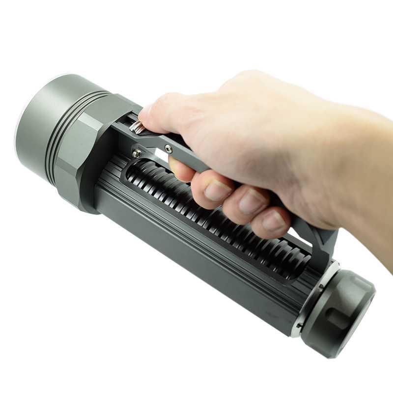 Powerful 6x XML L2 LED Diving Flashlight Underwater Fishing Scubas Torch Waterproof Dive Light 15000 Lumens 26650/32650 Lantern