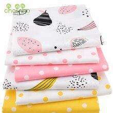 Lot de 6 tissus en coton sergé   Tissu Patchwork de dessin animé fait à la main, draps de couture et denfant, matériel pour robe, bricolage