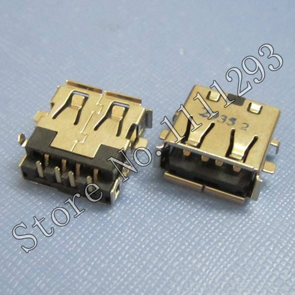 20 teile/los 2,0 USB Jack Buchse Anschluss für Asus P31S U31SD U31SG UL30A UL30JT UL30VT U31J U35JC K42JC X43B X43U etc USB Port