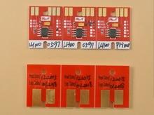 Puces de LH-100 mimaki pour puces permanentes Mimaki UJF3042 LH100 spc 0597 BK C M Y WH PR puces de réinitialisation automatique