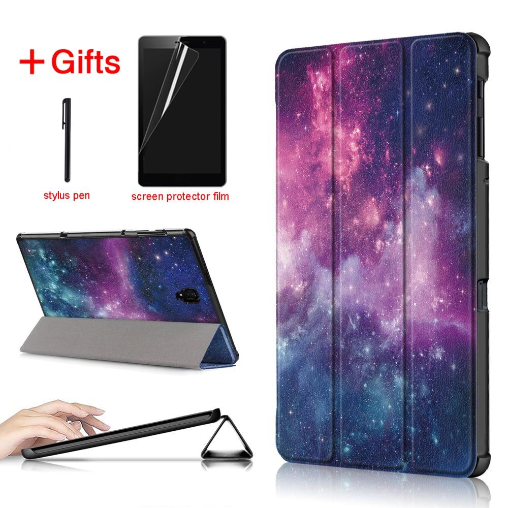 Funda ultradelgada de piel sintética para Tablet Samsung galaxy Tab A 10,5 2018 SM-T590 T595 T597 para Samsung galaxy Tab A 10,5