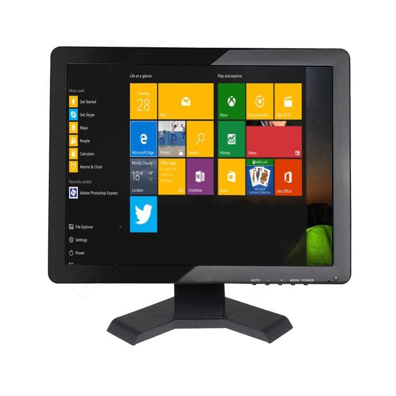 "Zhixianda 15"" touch screen monitor 1024*768 touchscreen monitor 15 inch usb touch monitor with AV/BNC/VGA/HDMI/USB interface"