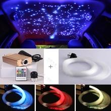 Hot sale car use Colorful optic fiber Star Glow LED Luminous Light kits for van roof decoration
