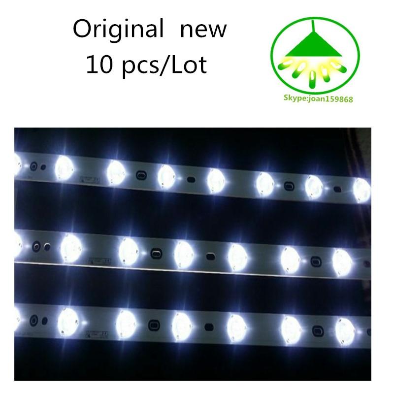 "10 PCS/lot Original new Backlight Led Strip for 58"" TV LED58R5500F LED V580H1-LD6-TLDC2 V580H1-LD6-TRDC2"