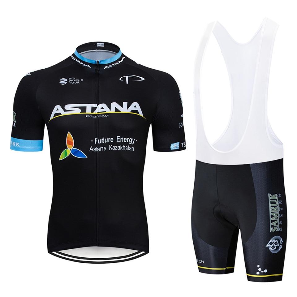 Astana roupas masculinas para ciclismo pro uci, camiseta para bicicleta, equipe masculina para mountain bike, roupas de ciclismo, 2019 gel para gel