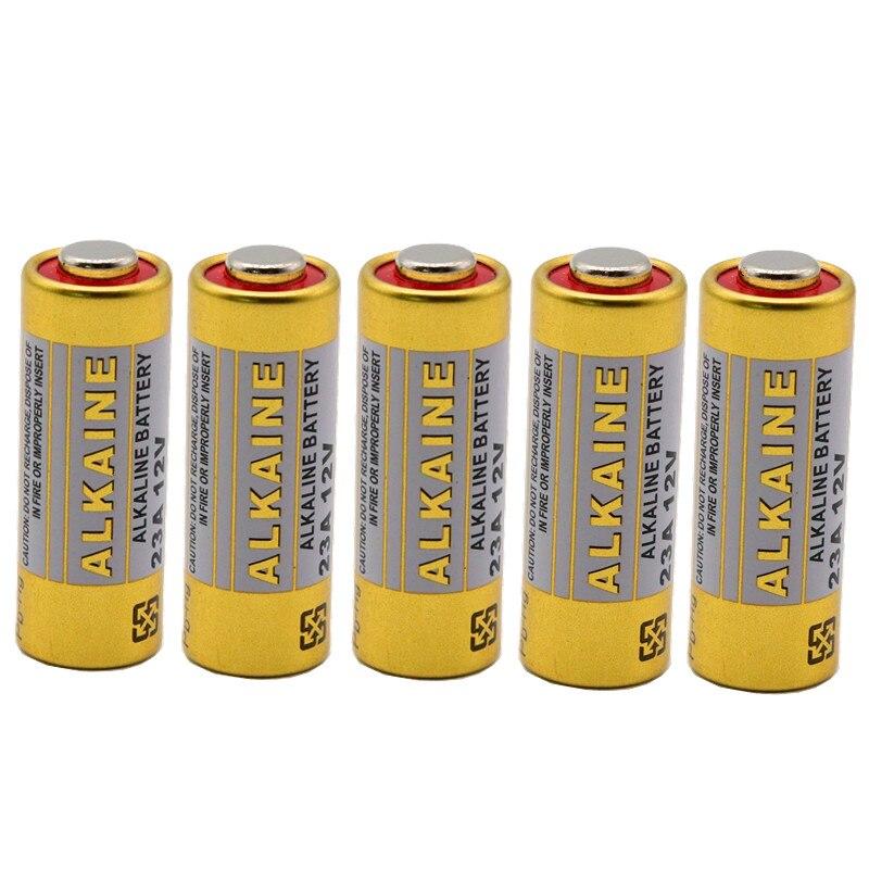 Batería alcalina 100%, 12 V 23A, 12 V, 21/23 A23, E23A, MN21, mando a distancia, batería, pieza de control remoto, 20 piezas