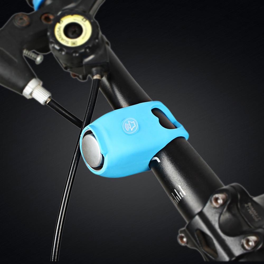 Bicicletas eléctricas de montaña, timbre de llamada a prueba de lluvia, bicicleta MTB, manillar, campana, cubierta de gel de sílice, timbre, timbre, accesorios de bicicleta, fuerte