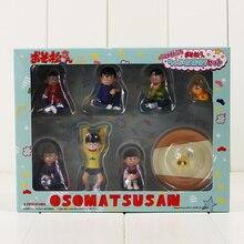 8 pièces/lot 2-6.5cm OSOMATSU San Mr osomatsu San Karamatsu Ichimatsu Mini frères figurine modèle jouets mignon à collectionner cadeaux