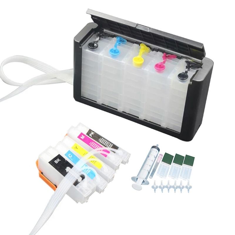 A 273xl T2730 de lujo CISS, sistema de tinta Compatible con epson XP-520 XP-600 XP-610 XP-620 XP-700 XP-800 XP-810 XP-820 impresora
