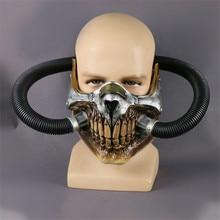 Cosermart film fou Max masque casque Punk masque squelette masque Halloween diable accessoires Cosplay PVC accessoire masque