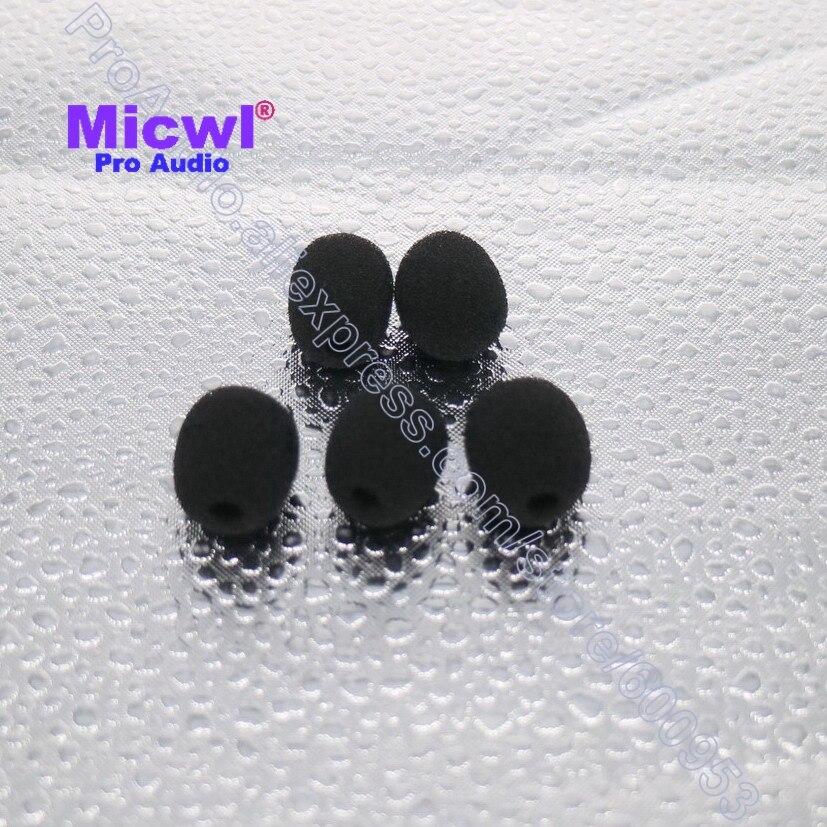 Spare Lapel Lavalier Microphone foam covers Windscreen Windshield for Sennheiser ME2  Sony V1 D11  6mm-8mm