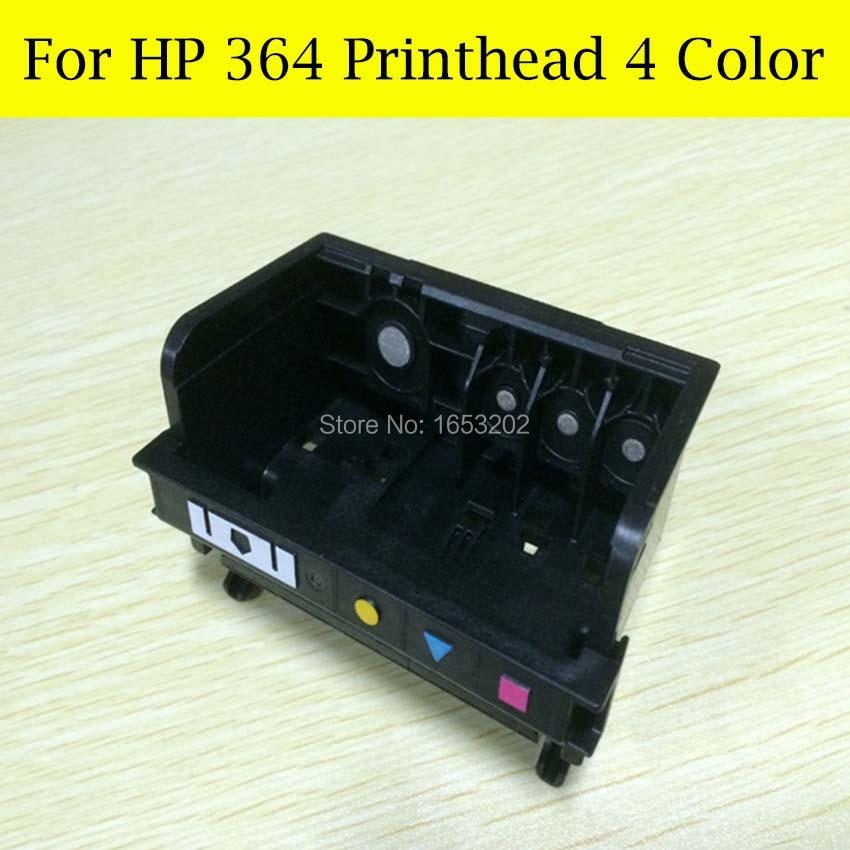 4 Color HP364 Printerhead para HP B010A B109A B109D B109F B110A B210A B210B B110 B111 B211E C311A para HP 364 XL cabeza de impresión