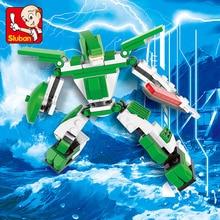 0385 110pcs Robot Constructor Model Kit Blocks Compatible LEGO Bricks Toys for Boys Girls Children Modeling