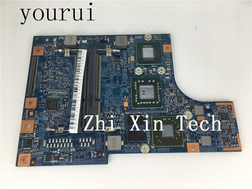 Yourui para Acer Aspire 4810 T 5810 ordenador portátil Morhterboard MBPDU01003 MB...