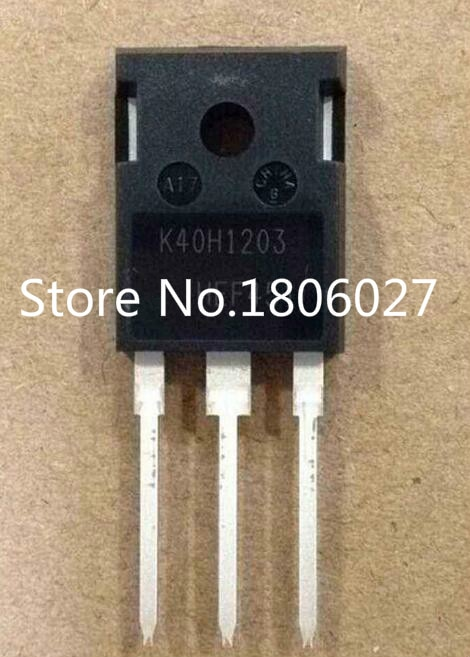 Send free 20PCS K40H1203   IKW40H1203     TO-247  New original spot selling integrated circuits