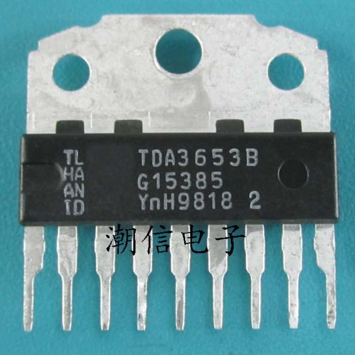 10 pçs/lote TDA3653B TDA3653 ZIP-9