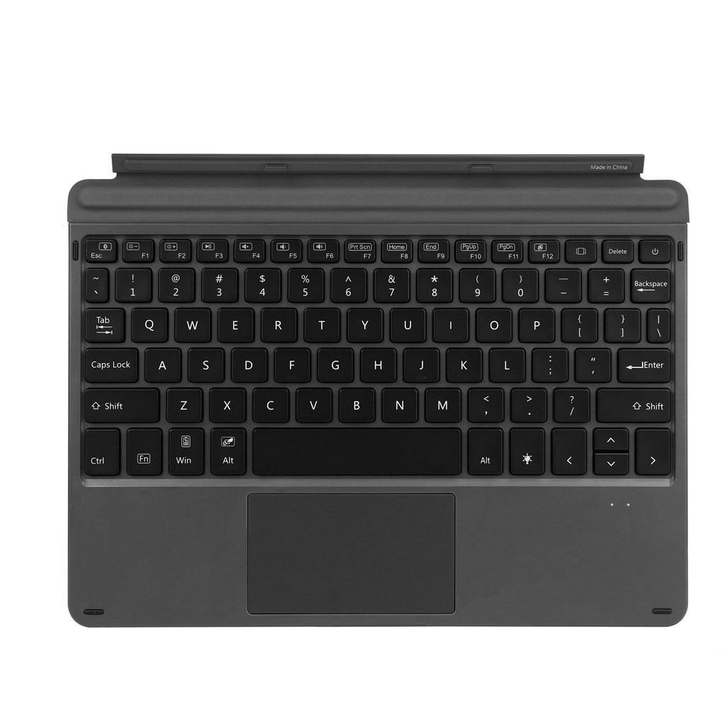 For Microsoft Surface Go Magnetic Slim 7-Color LED Backlit Bluetooth Keyboard sanlepus keyboard wireless keyboard