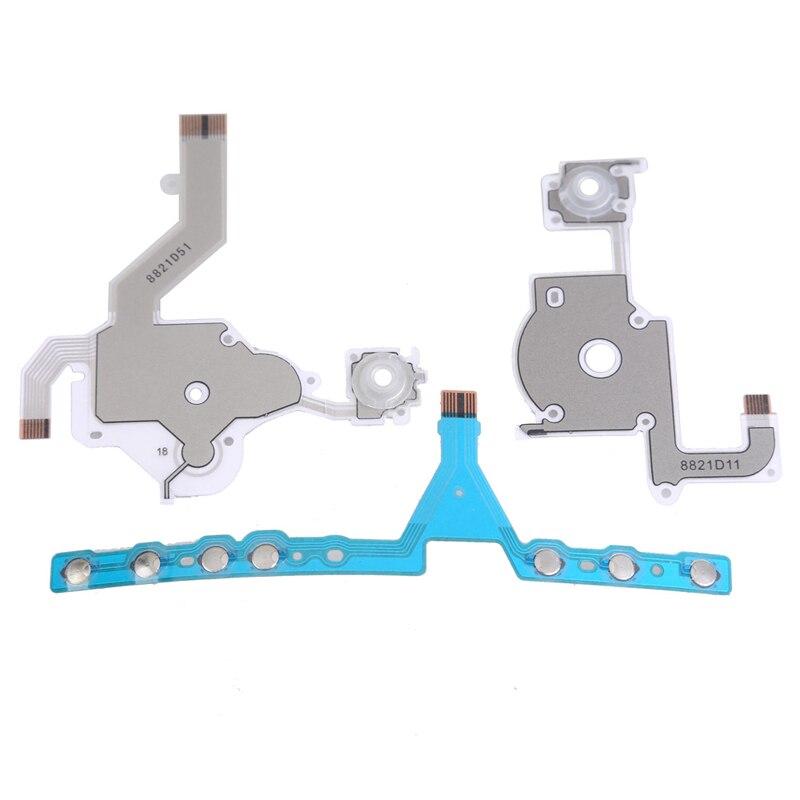 Izquierda botones botón flexible Cable de cinta de la Asamblea reemplazo de cables flexible de piezas de reparación componente para PSP 3000