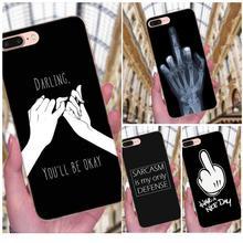 On Sale Phone Accessories Case Mouse Finger Have A Nice Day For Apple iPhone X XS Max XR 4 4S 5 5C 5S SE 6 6S 7 8 Plus