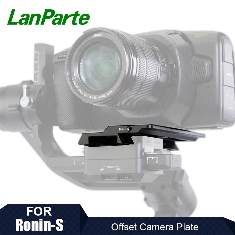Lanparte Ronin S-لوحة إزاحة لسيارات BMPCC 6K 4K ، تصميم Blackmagic ، كاميرا سينما الجيب ، ملحقات كاميرا DJI Gimbal
