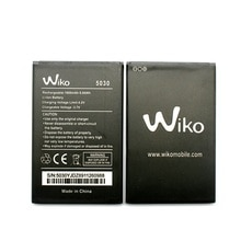 Orijinal yüksek kaliteli Wiko 5030 cep telefonu pil Wiko 5030 cep telefonu