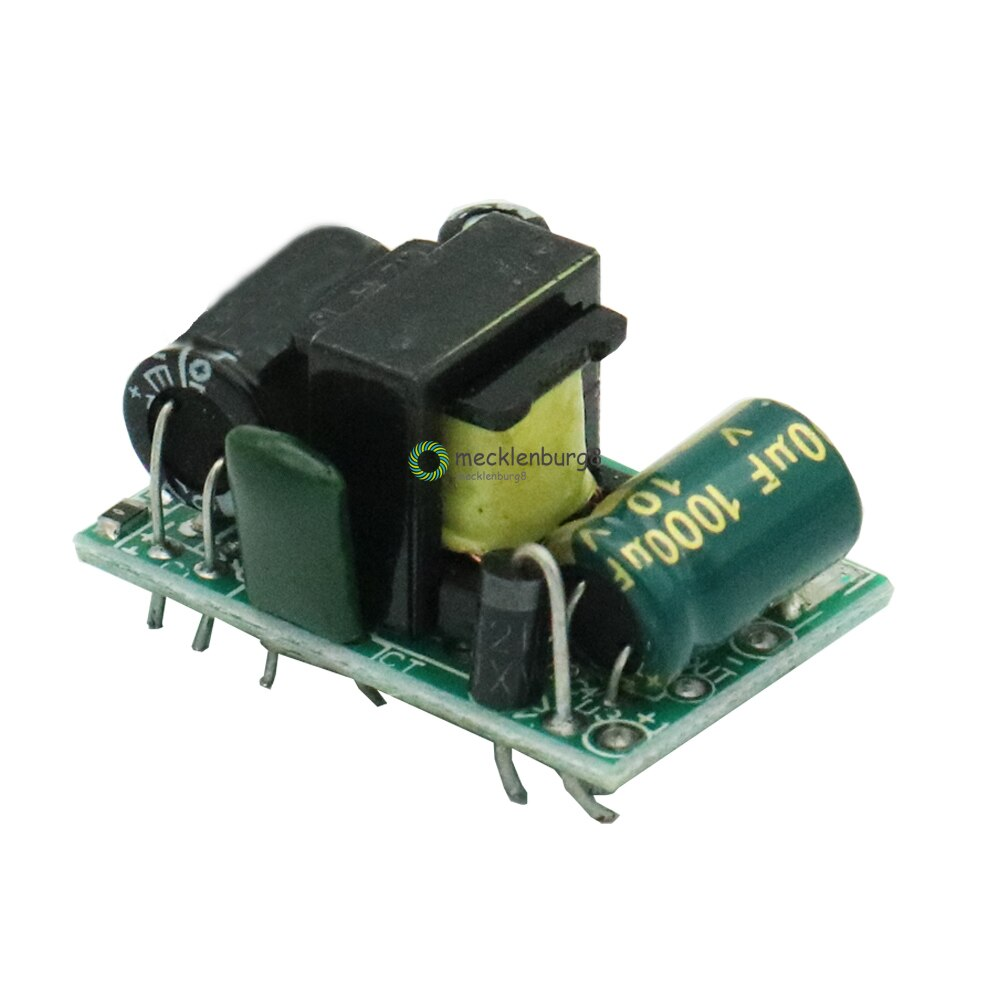 Precisión 5 V 700mA 3,5 W precisión abajo-convertidor AC 220 v a 5 v DC buck transformador fuente de alimentación módulo