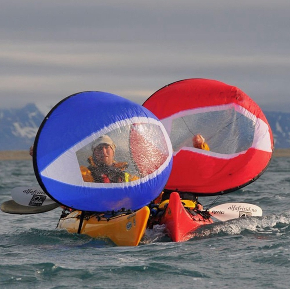 Przezroczyste okienko wind Sail kajak wiosła wiosła deska surfingowa deska Sup sporty wodne surf island akcesoria do łodzi silnika wodny żeglarstwo