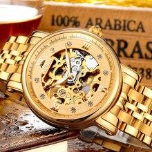 Relojes de pulsera mecánicos NESUN para hombre, de lujo, de marca superior, automáticos, de viento, impermeables, huecos, relojes deportivos, Relogio Masculino
