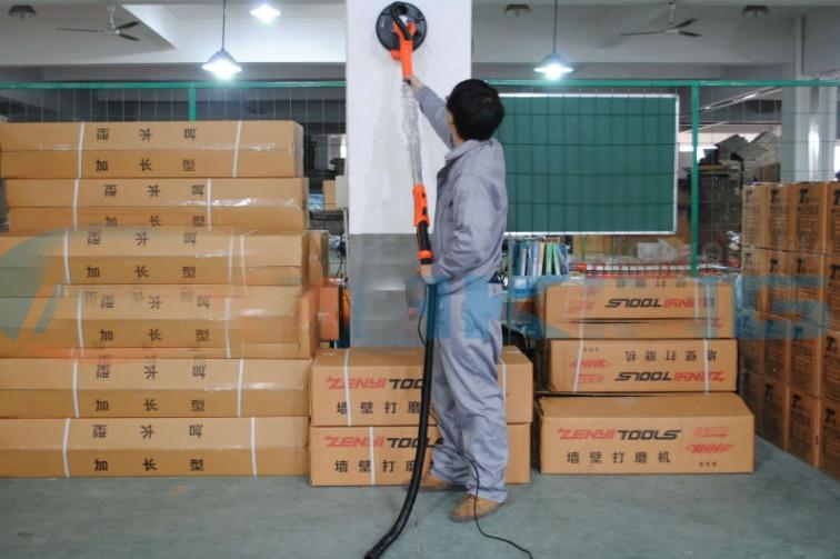 HOT Professional model Heavy-duty Electric Drywall sander DWS230B Carry bag polish wall /wood long-reach drywall sander enlarge