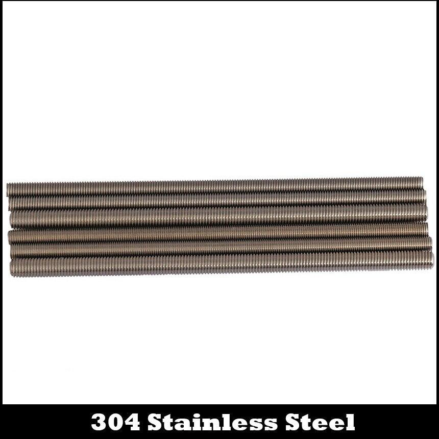 M10 * 1,5*250 M10x1.5x250 M12 * 1,75*250 M12x1.75x250 304 нержавеющая сталь левосторонняя Резьбовая штанга для болтов