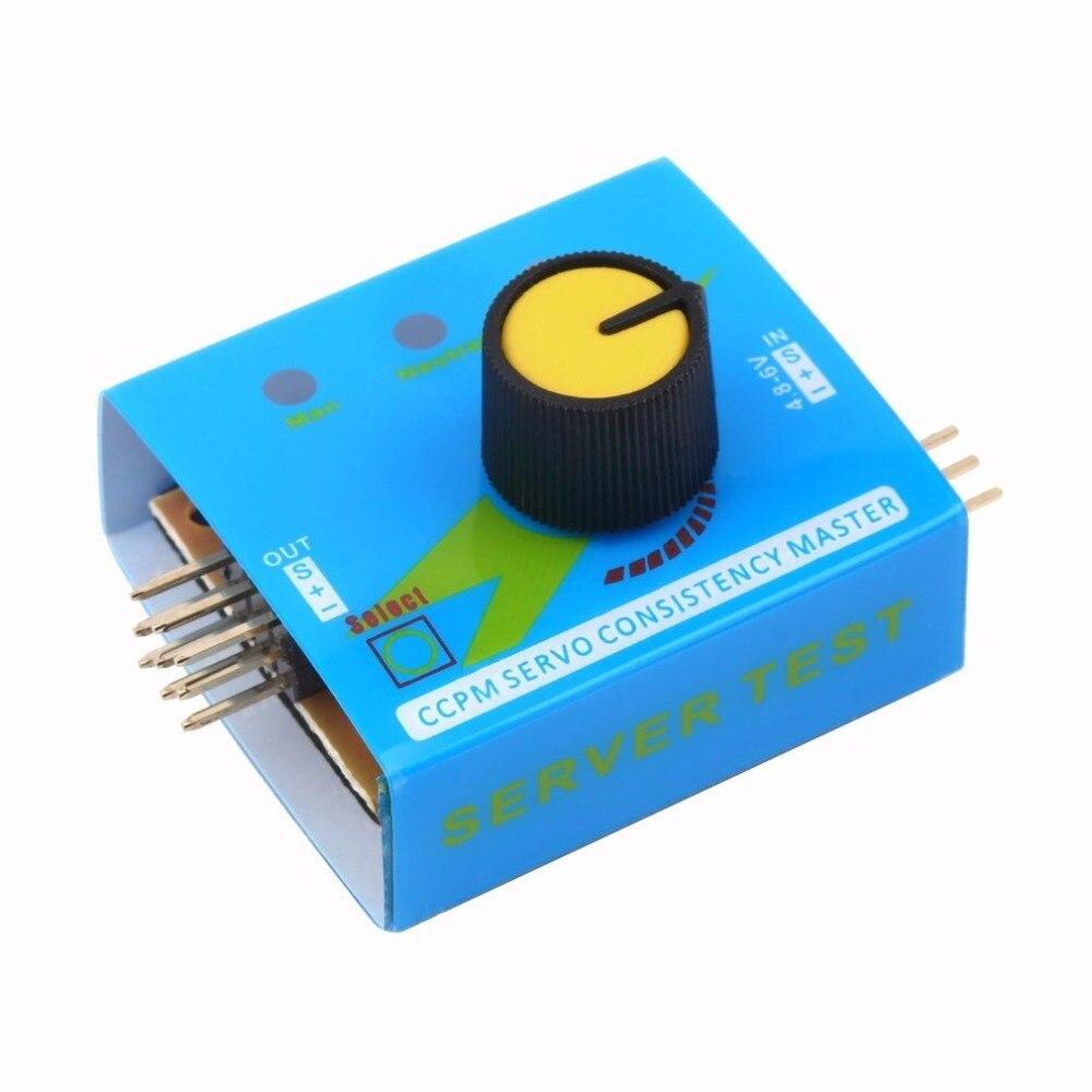 Comprobador de varios servos 3CH ECS, controlador de velocidad de consistencia, canales de potencia, medidor CCPM, servomotor para Arduino UNO R3 SG90