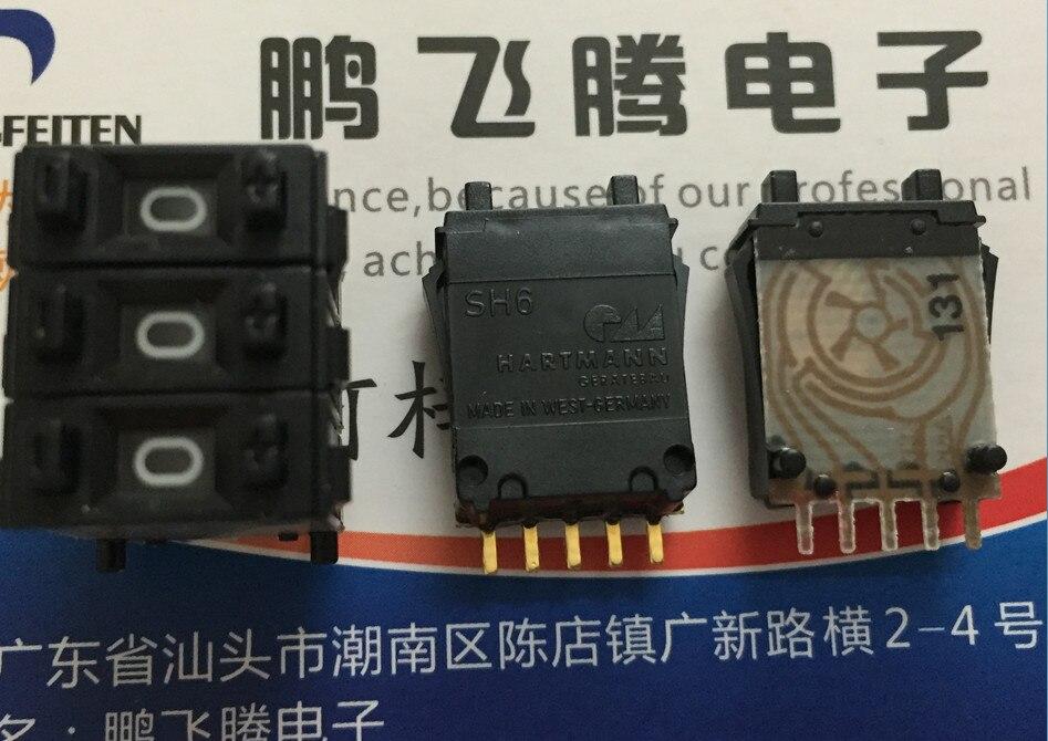 Interruptor de 100% digital, Original, nuevo, SH6-131-AKK-2, 1248C, dip, 5 pines
