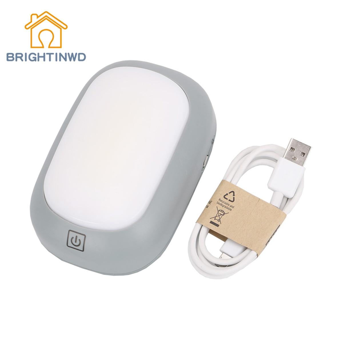 Sensor de toque portátil luzes acampamento cabeceira luz da noite ímã lâmpada mesa ao ar livre caminhadas pendurado tenda lanterna 18650 brightinwd