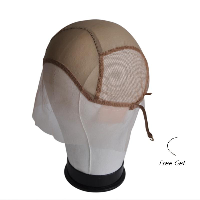 Gorro peluca con encaje frontal para hacer pelucas con correas ajustables gorro para tejer pelucas sin pegamento gorro peluca con encaje s Hairnet