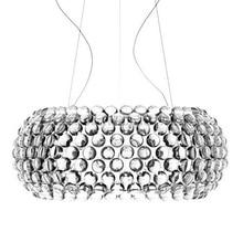 Moderne Woonkamer Acryl RS7 Lamp Hanglampen Armatuur Eetkamer Foscarini Caboche Dia35/50/65 Cm Clear gouden Hanger Lamp