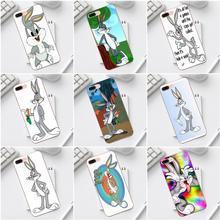 For iPhone 4 4S 5 5C SE 6 6S 7 8 Plus X XS Max XR Galaxy A3 A5 J1 J3 J5 J7 2017 TPU Cell Bags Bugs Bunny Baby Looney Tunes