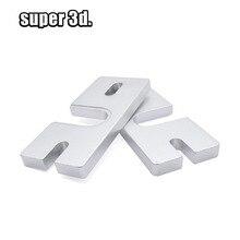 1 pièces imprimante 3D accessoire Reprap V6 Hot End plaque de montage en aluminium pour Makergear j-head ou bricolage