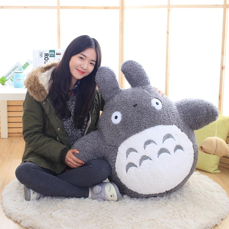 Kawaii японский стиль аниме кошка чучела кукла Тоторо Подушка Плюшевые игрушки для детей