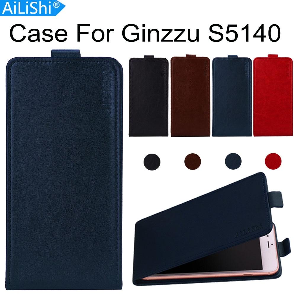 ¡Directo de la fábrica de AiLiShi! Funda para Ginzzu S5140 lujosa Funda de cuero PU exclusiva 100% funda de teléfono especial piel + seguimiento caliente