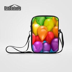 Dispalang Colorful Balloon Shoulder Bags Womens Small Crossbody Bags Girls Casual Messenger Bag Kids Girls Boys Travel Bags